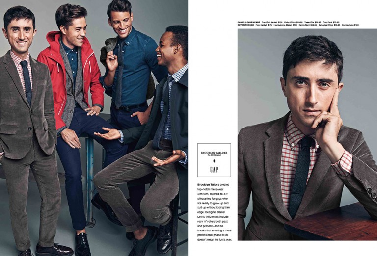 a — a CAMPAIGN LAUNCH PAGE:<br>GAP X GQ